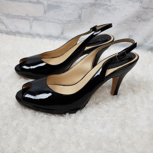 ef9eb5323a8 Cole Haan Nike Air slingback peep toe heels 7.5